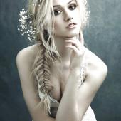 Katherine McNamara cleavage