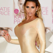 Katie Price braless