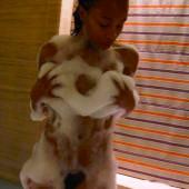 Khanyi Mbau nude