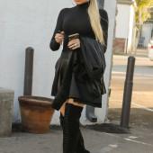 Khloe Kardashian overknees