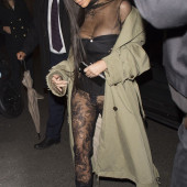 Kim Kardashian pantyless
