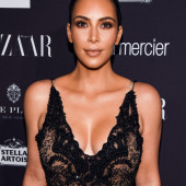 Kim Kardashian see through