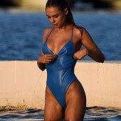 Kimberley Garner swimsuit
