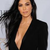 Kourtney Kardashian braless