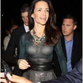 Kristin Davis see through