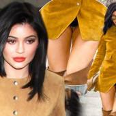 Kylie Jenner hot upskirt
