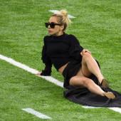 Lady Gaga upskirt