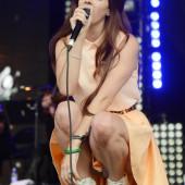 Lana Del Rey upskirt