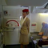 Laura Anderson stewardess