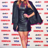 Laura Whitmore leather