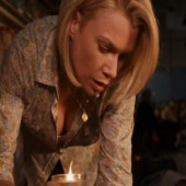 Laurie Holden downblouse