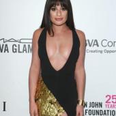 Lea Michele cleavage