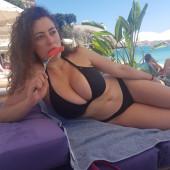 Leila Lowfire bikini