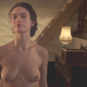 Lily James naked scene
