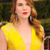Lily Rabe cleavage
