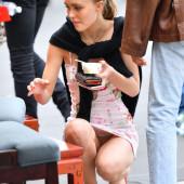 Lily-Rose Depp upskirt