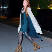 Lindsay Lohan high heels