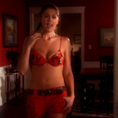 Lindsey Shaw sexy scene