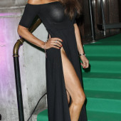 Lizzie Cundy pantyless