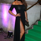 Lizzie Cundy without panties