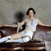 Lucy Liu see through