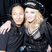 Madonna nipple slip