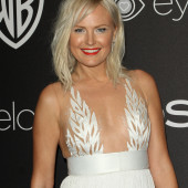 Malin Akerman braless