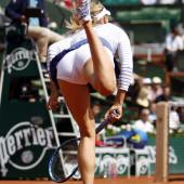 Maria Sharapova upskirt