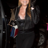 Mariah Carey delkollete
