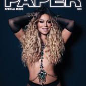 Mariah Carey topless