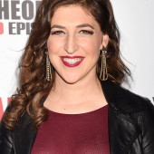 Mayim Bialik see through