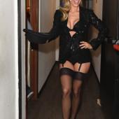 Michelle Hunziker lingerie