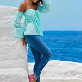 Michelle Keegan jeans
