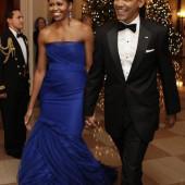 Michelle Obama braless