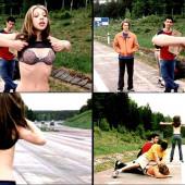 Michelle Trachtenberg hot scene