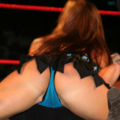Mickie James upskirt