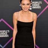 Mila Kunis braless
