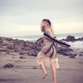 Miley Cyrus beach