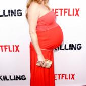 Mireille Enos pregnant