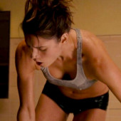 Missy Peregrym downblouse