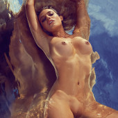 Monica Sims nackt im playboy