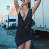 Morena Baccarin oops