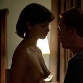 Morena Baccarin topless scene