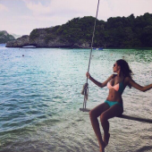 Nadine Menz strand
