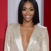 Nafessa Williams cleavage