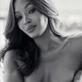 Naomi Campbell nipple slip