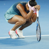 Naomi Osaka oops