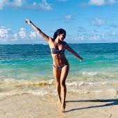 Natalie Martinez beach