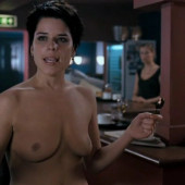 Neve Campbell topless