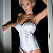 Nicky Whelan lingerie